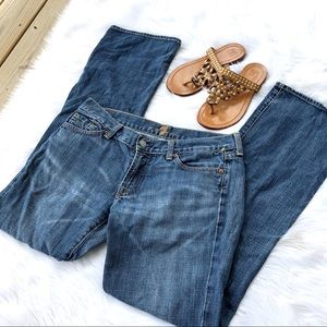 7 For All Mankind Bootcut Mid Rise Jeans